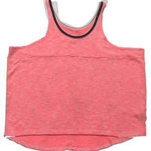 FREE PEOPLE WE THE FREE women tank pink large knit